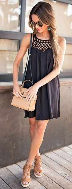 #summer #lovely #outfits |  Little Black Dress