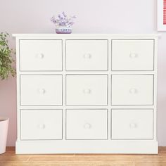 White #chest of drawers 9 #bedroom furniture unit wooden #bedside storage cabinet,  View more on the LINK: http://www.zeppy.io/product/gb/2/191981081496/