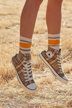 Sneakers for Women - Converse, Running Shoes & High Tops | Free People Vans Classic High Top, High Top Chucks, High Top Sneakers, Fall Shoes, Summer Shoes, Chuck Taylors High Top, Chuck Taylor Sneakers, All Star, Free People