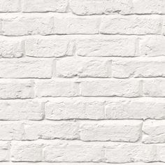 White Brick Wallpaper | Dunelm