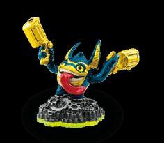 Skylanders Legendary Trigger Happy Character