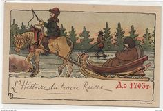Picture Postcards, Vintage Postcards, New Year Post, Winter Cards, Russian Art, Vintage Cards, Vintage Christmas, Christmas Fun, Vintage World Maps