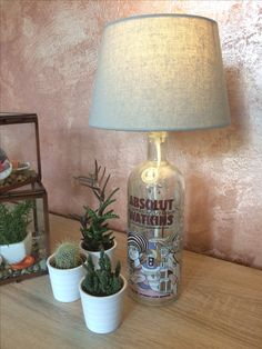Vodka-Bottle-Lamp