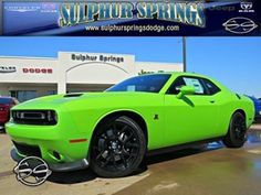 2015 Dodge Challenger R/T Scat Pack! 6.4L V8 HEMI! Launch Control!  Call 903-885-2600 becsue you know you want to dive this one!