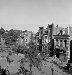 De Van Pallandtstraat in de Burgemeesterswijk in 1950.