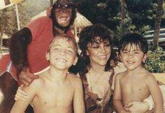 Verónica, Cristian y Mich Castro