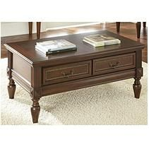 Enhance the look of your living space with the Douglas Storage Coffee Table. Crafted with quality materials, this coffee table is both durable and attractive. Steve Silver Furniture, Brown Furniture, Furniture Styles, Sofa Furniture, Wooden Furniture, Furniture Design, Sofa End Tables, Coffee And End Tables, Coffee Table With Storage