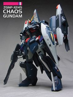 GUNDAM GUY: 1/100 ZGMF-X24S Chaos Gundam - Customized Build