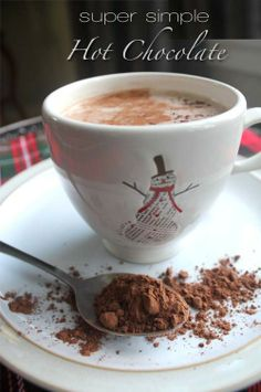 SUPER SIMPLE HOT CHOCOLATE by @Food Savvy (Krista Butler)