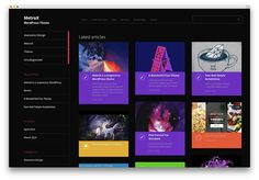 metrox - free blog theme