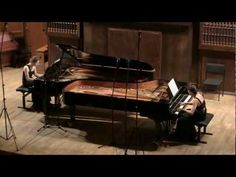 Brahms, Variations on a theme by Haydn for two pianos, op. 56b - YouTube