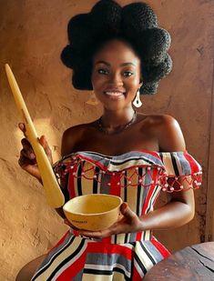 Beautiful African Women, African Beauty, African Fashion, Black Girl Art, Black Girls, African Royalty, Hair Due, Black Goddess, African Girl