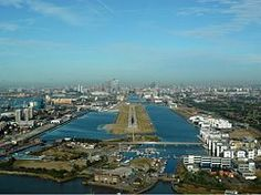 LONDON CITY AIRPORT. With a single 1,500m (4,900ft) runway, it's the only airport located in the heart of London.