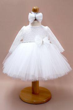 Anya #ivory Girls Dresses, Flower Girl Dresses, Tulle, Ivory, Wedding Dresses, Skirts, Fashion, Dresses Of Girls, Bride Dresses