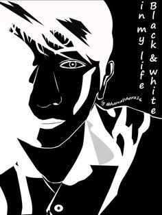 black & white #vectorart #editingphoto #art
