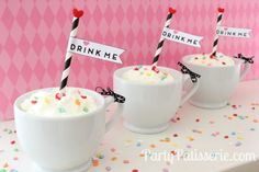 Yummy and Adorable Strawberry Milkshakes-DIY-PartyPatisserie.com
