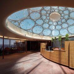 Frank Lloyd Wright SC Johnson Wax Complex - reception