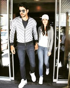 Burak Özçivit & Fahriye Evcen out and about (May Beautiful Couple, Simply Beautiful, Iranian Beauty, Burak Ozcivit, Cute Relationship Goals, Bff Pictures, Turkish Actors, Best Couple, Actors & Actresses