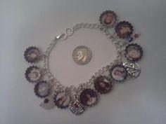 Mini cap TVD charm bracelet