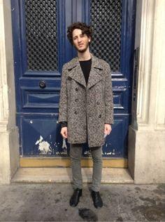 H&M - REPETTO  #men #mode #look #streetstyle http://www.moodlook.com/look/2014-02-24-france-paris-19
