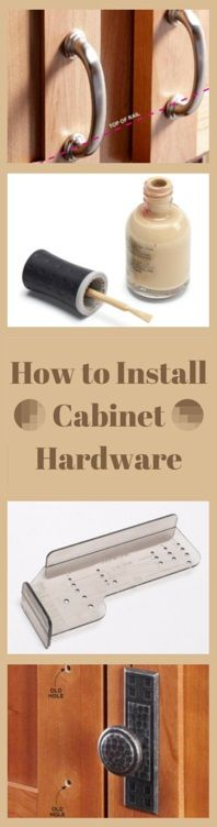 how to install cabinet hardware - get knobs and pulls right the first time