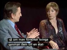 Kvällsöppet 1977 - Olof Palme och Shirley MacLaine - Hela Intervjun