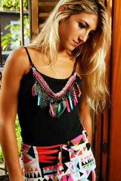 #collar artsenanal#coleccion verano 2013 caro martinez