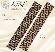 Loom pattern Coil LOOM bracelet pattern in PDF  instant