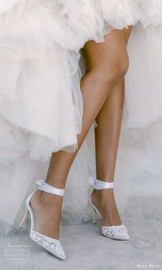 bella belle spring 2021 bridal shoes ankle strap pointy straps high heel shoes (9) zv -- Bella Belle Spring 2021 Bridal Shoes | Wedding Inspirasi #wedding #weddings #bridal #weddingideas #collection:Metamorphosis #label:BellaBelle #season:Spring/Summer #week:112021 #year:2021 ~ Bridal Heels, Wedding Shoes Heels, Bride Shoes, Shoe Crafts, Bridal Stores, Second Weddings, Glass Slipper, Comfortable Heels, Lace Design