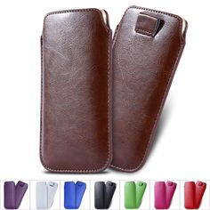 Cell Phone Cases Cheap Cell Phone Leather Pouch Cover Case For Samsung Galaxy S6/S6 Edge Iphone 6/6plus Slim Sleeve Phone Bag Strap Buckle Full Protection Phone Cover From Mayiandjay, $1.76