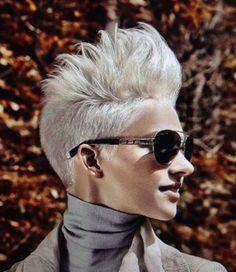 ¡Peinados cortos con Cresta para un peinado HERMOSO y GENIAL!