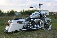 "Gangster Harley | ... of 14"" Carlini Gangster Apes on a RK or RKC - Harley Davidson Forums"