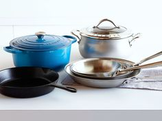 Choosing the Right Pots and Pans for Your Kitchen : Whether you're boiling pasta for a crowd or preparing dinner for two, Alex's rundown of pot-and-pan essentials covers all your basic cooking needs. Follow her tips by selecting the best cookware to suit your lifestyle, and you'll be prepared to take on almost any task in the kitchen. via Food Network