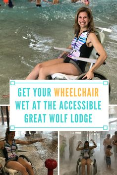 Looking for an amazing wheelchair accessible getaway that involves splashing and swimming year round? Then look no further than Great Wolf Lodge!