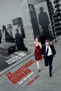 """The Adjustment Bureau"" starring Matt Damon and Emily Blunt.  http://www.youtube.com/watch?v=wZJ0TP4nTaE"