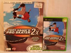 Tony Hawk's Pro Skater 2X Original XBOX w/Strategy Guide