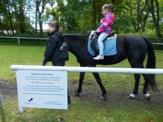 Children can ride ponies