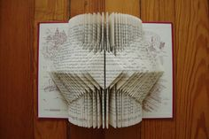 6 Best Ideas for Recycled Craft Projects Old Book Crafts, Book Page Crafts, Origami, Altered Books, Altered Art, Book Folding Patterns Free, Fancy Envelopes, Paper Art, Paper Crafts