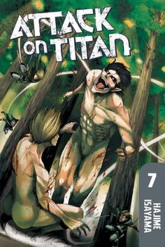 Attack on Titan 7: The Survey Corps sets a cunning trap to capture the mysterious Abnormal Titan that broke through their ranks. As Arwin tries to determine the grotesque creature's identity and purpose, scouts report Titans closing in on all sides! But they don't seem to be after the humans – instead they're targeting the Titan! $8.39