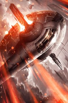 Haunting The Clouds - Raymond Swanland.     My favourite ship