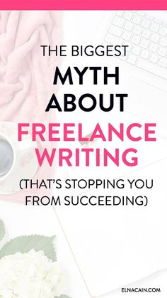 Are you a new freelance writer looking for freelance writing tips? Maybe you've come across ideas of freelance writing and just not sure if they are true. Learn what the biggest myth about freelance writing is and the reasons why you may believe it. Creative Writing Jobs, Make Money Writing, Writing Tips, Writing Resources, Article Writing, Blog Writing, Writing Prompts, Job Freelance, Freelance Writing Jobs