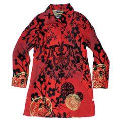 Desigual Electric Love jacket 27E2L06, Free Shipping at CelebrityModa.com