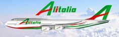 Alitalia B747
