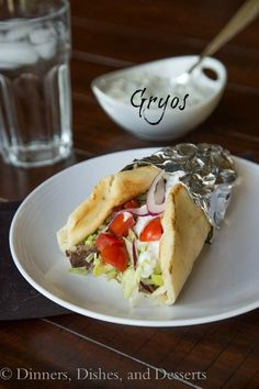 Homemade Gyros-I hate that I can't find these anywhere in my area! Been 5 years since I've had one, miss 'em!