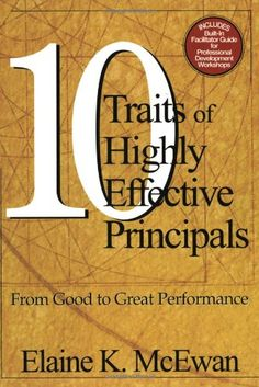 Bestseller Books Online Ten Traits of Highly Effective Principals: From Good to Great Performance Elaine K. McEwan-Adkins $36.37  - http://www.ebooknetworking.net/books_detail-0761946195.html