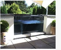 1000 images about patios on pinterest fish ponds ponds for Koi pond window