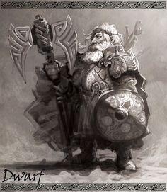 Dwarf Warrior by *armandeo64 on deviantART