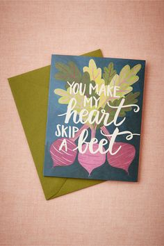 A heartfelt greeting card and a home cooked meal are the perfect ways to brighten a loved ones day!