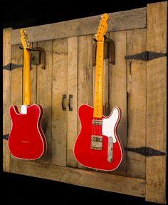 Stylish Handmade Interpretations of Old School Classics and New School Originals Old School, Music Instruments, Guitar, The Originals, Classic, Red, Danger Girl, Derby, Musical Instruments