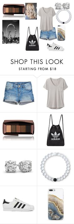 """""""At the fair"""" by bethecaptain on Polyvore featuring prAna, Hourglass Cosmetics, adidas Originals, Lokai, adidas and Nanette Lepore"""